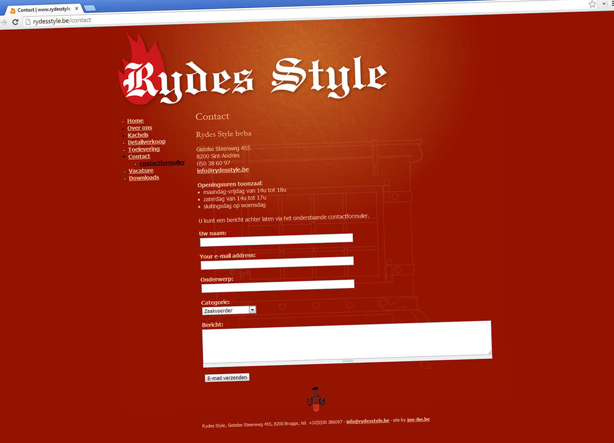 Website made with Drupal
