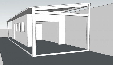 Studio - quick 3D try out in SketchUp