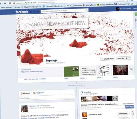 Topanga - Facebook EP promo