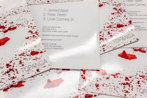 Topanga - CD EP design