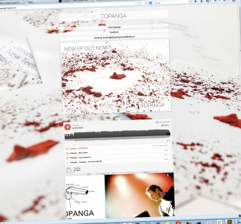 Topanga - band website