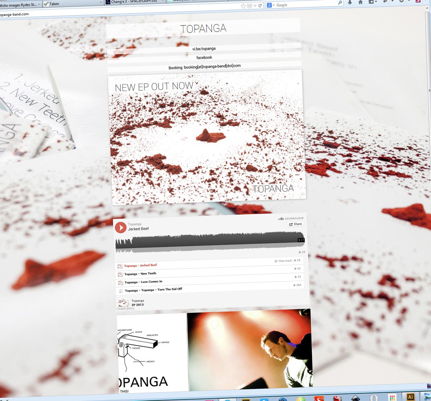 Topanga - band website