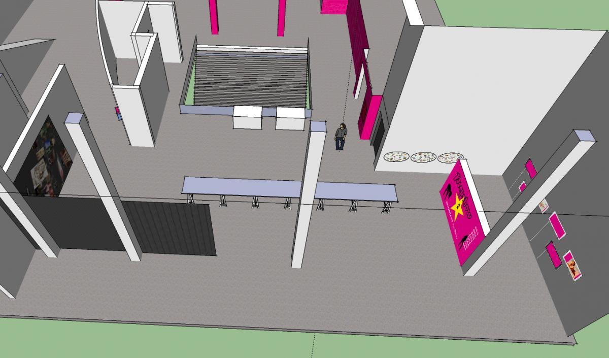 3D Concept schets cc De Werf