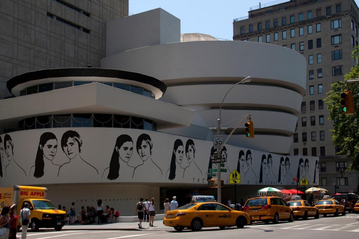 Photo montage - Guggenheim - original: http://www.flickr.com/photos/hisgett/4688744276/