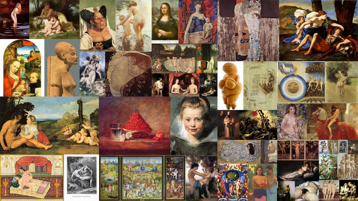Netwerk der Lusten - selectie oude meesters