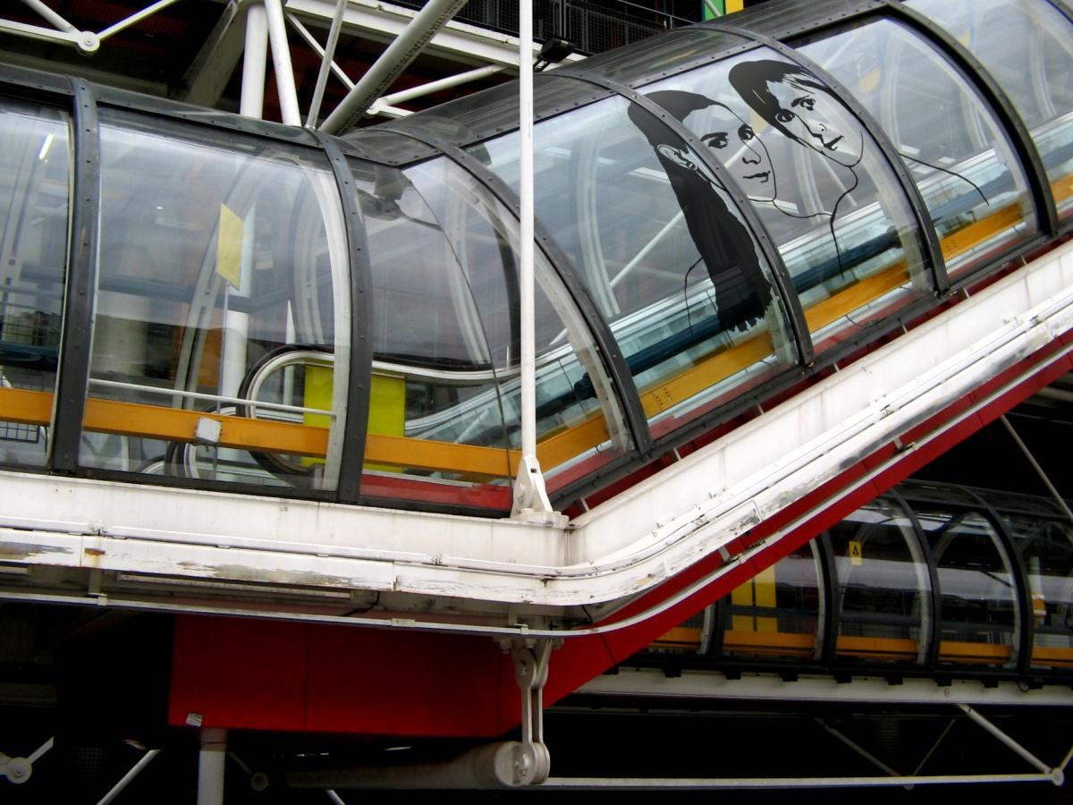 CPhoto montage - Centre Pompidou - original: http://www.flickr.com/photos/johncohen/23087227/
